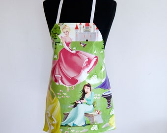Disney Children's Apron / Smock princesses for girls / Smock / Babero