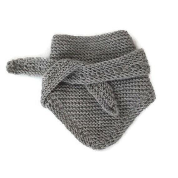 Baby Scarves Knit Pattern : baby scarf bib kid scarf hand knit baby scarf kid Scarf