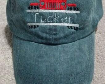 Custom Children's Truck Baseball Hat