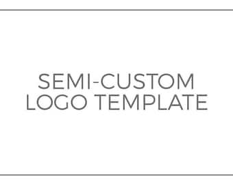 Semi-Custom Logo Template