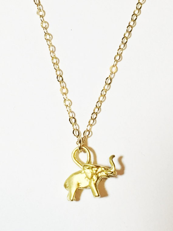 lucky elephant charm necklace lucky charms by thetrendyones