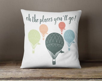 Dorm Decor-Graduation Gift-Decorative Throw Pillows- Inspirational Throw Pillow- Typography Pillow-Graduation Gift For Girls