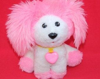 Vintage 1982 Mattel Poochie Dog Plush Doll Stuffed Animal