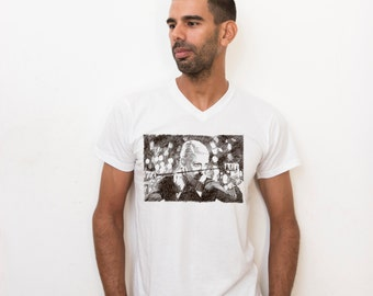Original Mens t shirt, men tee, Madonna t shirt for men, Pop Art print, Pop Star, Original Illustration, music fashion, Madonna fans Shirt