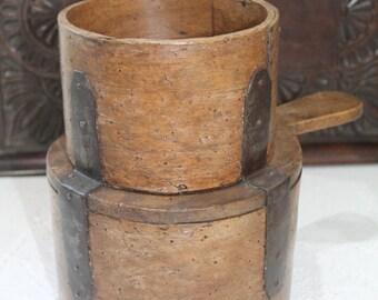 Vintage/Antique Grain Measure...Kitchenalia