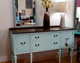unique sideboard related items etsy. Black Bedroom Furniture Sets. Home Design Ideas