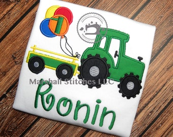 Tractor Birthday Shirt/ Farm Birthday Shirt/ Tractor Shirt