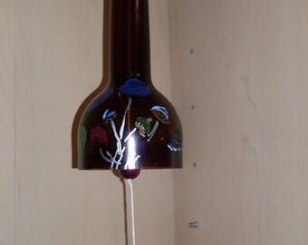 Custom Wine Bottle Neck Wind Chime - Upcycled Wind Chime