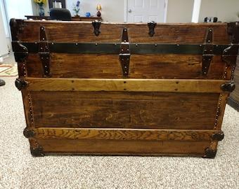 Beautiful Antique Trunk No. 111