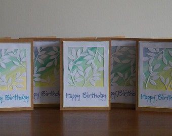Handmade Happy Birthday Cards
