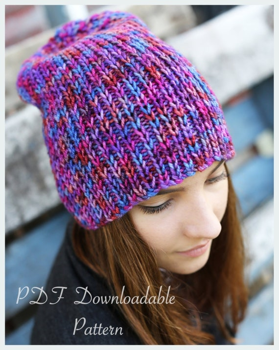 Knitting Inspirations Perth : Knitting pattern ivy beanie from thewoollywardrobe on