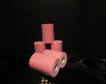 "close out PINK TULLE ROLL 6"" X 100 Yards"