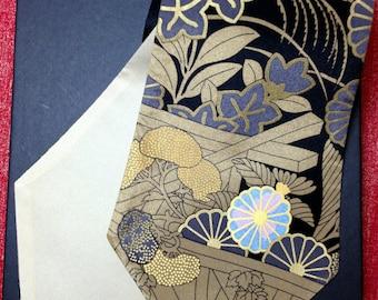 Japanese Museum Silk Handmade Necktie-Scarf