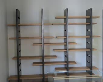 Library wood metal
