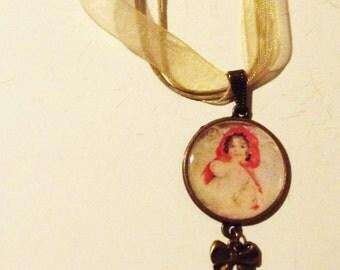 """Necklace """"Le petit chaperon rouge"""""""