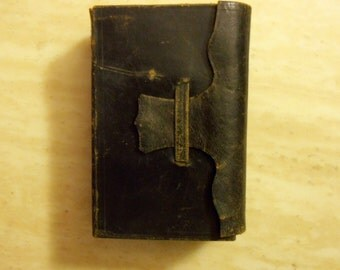 Holy Bible 1854, Leather Bound, PRE CIVIL WAR, Religious Book