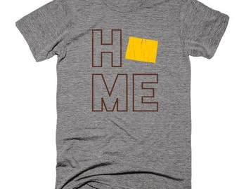 Wyoming Home Triblend Super-Soft T-Shirt