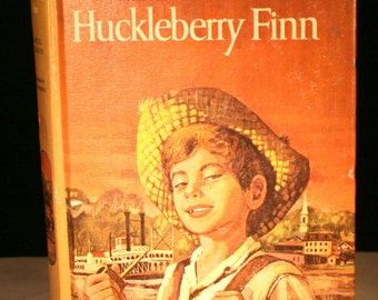 1963 The Adventures of Huckleberry Finn by Samuel Clemens//Companion Library Edition