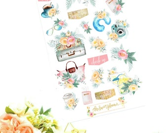 WANDERLUST | Travel Deco Sticker Sheet