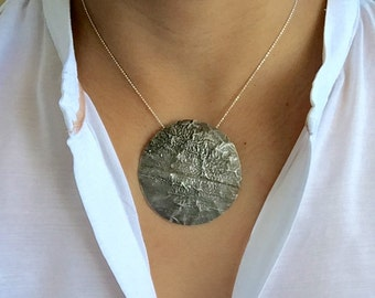 Old Silver Necklace