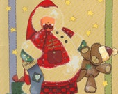 Tole Painting Craft project Book By Cheri - Cute As a Button Four You - Santa - Angels  - Ornaments Wood Crafts
