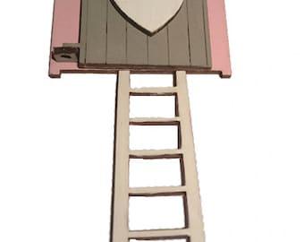 Pink Step Ladder Etsy