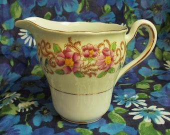 Vintage Colclough China  - Bone China Milk/Cream Jug - 6677 - 1940's - Made in England