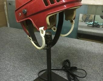 Hockey Helmet Table Lamp