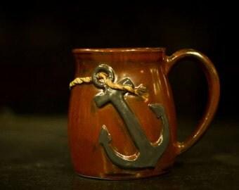 Nautical Anchor Ceramic Mug