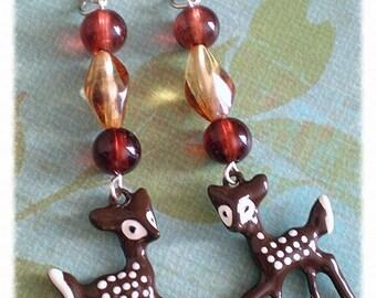 Woodland Deer Dangles