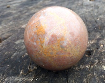 Natural Agate Crystal Sphere