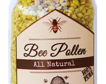 All Natural 100% Bee Pollen ~ FRESH!  2.5oz