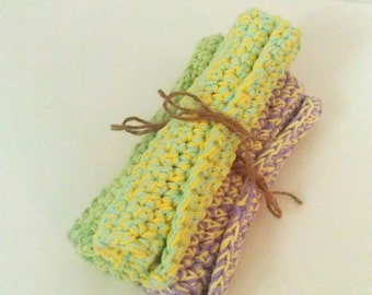 "Dishcloths, kitchen dishcloths, 100% cotton dishcloths, 8""x11"" dishcloths"