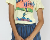"1970's Vintage ""Get High"" Graphic T-Shirt Rare Graphic"