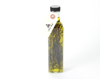 Extra Virgin Olive Oil with a fresh Rosmary Infusion - 250ml (8.45 Oz)