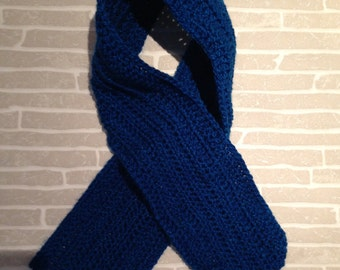 Child blue scarf - READY TO SHIP