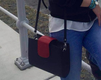 """Lima"" 100% leather bag."