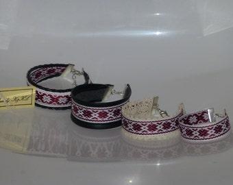 Latviska aproce rokasspradze Auseklis, Latvian bracelet