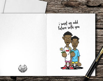 Odd Future Valentine's Day Card