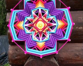 """Mandala Ojo de Dios """"Eden Flower"""""""