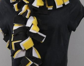 Spirit Wear Fleece Scarves, Support Your Favorite Team! (Solid Colors)