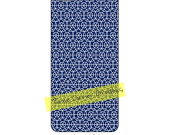 iPhone 5 printable case design (Line up and circle the hexagons), DIY print at home iPhone accessories for 5, 5S, or SE