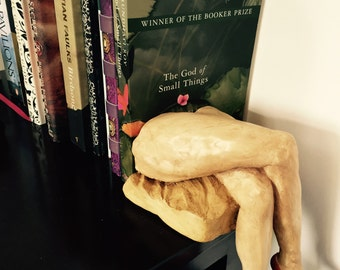 Valentine Book End ~ 'Vamp Legs' Ceramic Sculpture