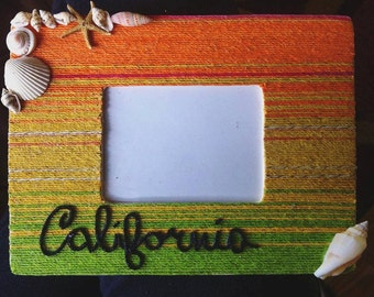 Cali Hemp Cord Frame with Shells