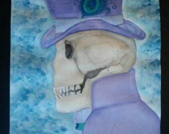 The Mad Hatter Skeleton