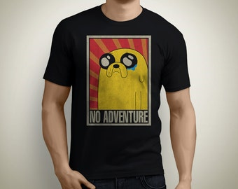 No Adventure - Adventure Time T-Shirt