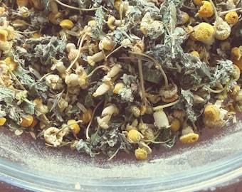 Orange-Mint-Chamomile Tea