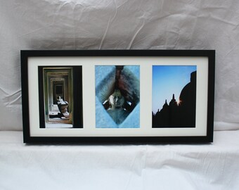 Ancient Buddha - Tripple Photo Framed Print