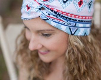 Geometric Turban Headband