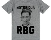 The Notorious RBG (Ruth Bader Ginsburg) Tee | Political Shirt, Funny Custom T-Shirt, RBG Shirt
